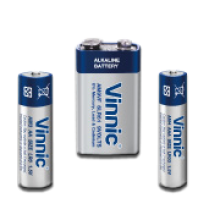Vinnic Alkaline batteries